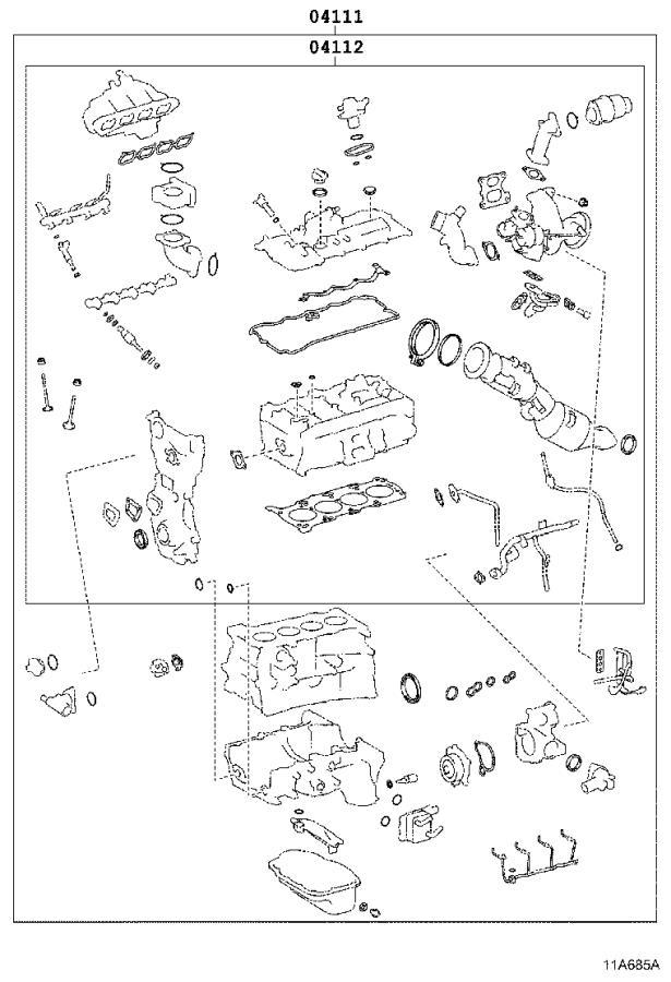 Lexus Is 350 Gasket Kit  Engine Overhaul