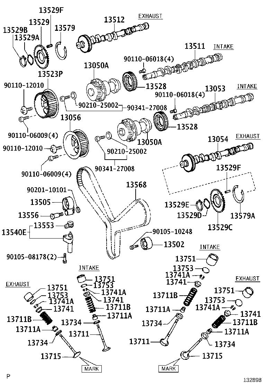 Lexus Lx 470 Engine Timing Belt Idler