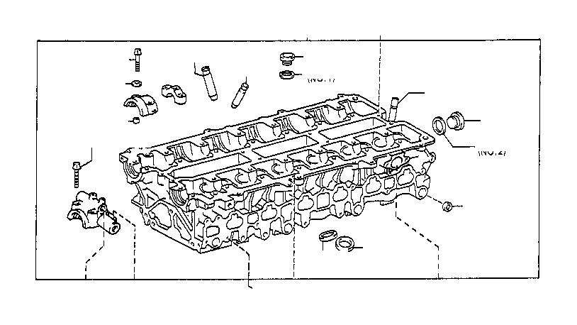 Lexus Lx 470 Engine Expansion Plug