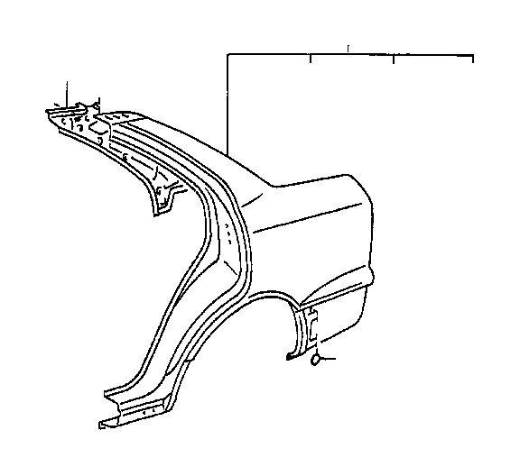 lexus ls 400 weatherstrip  roof side rail  left  member  interior  body