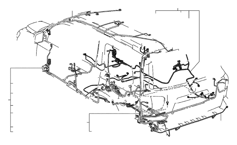 Lexus Ls 460 Connector  Wiring Harness  Engine  Seat